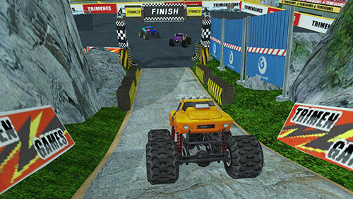 Screenshots von 4x4 dirt off-road parking: Forest trials simulator für Android-Tablet, Smartphone.