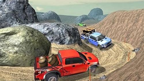 Kostenloses Android-Game Off-Road Pickup Truck Simulator. Vollversion der Android-apk-App Hirschjäger: Die Off-road pickup truck simulator für Tablets und Telefone.