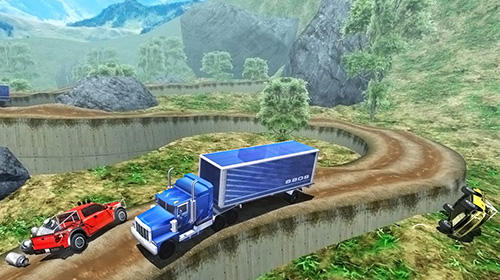 Off-road pickup truck simulator für Android spielen. Spiel Off-Road Pickup Truck Simulator kostenloser Download.