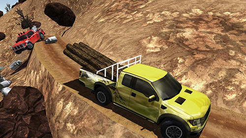 Screenshots von Off-road pickup truck simulator für Android-Tablet, Smartphone.