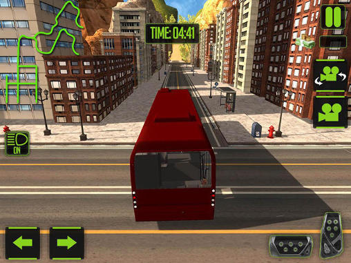Screenshots von Off-road tourist bus driver für Android-Tablet, Smartphone.