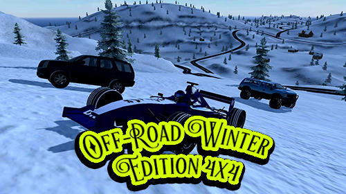 Off-road winter edition 4x4 poster