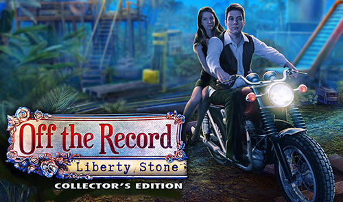 Off the record: Liberty stone. Collector's edition poster