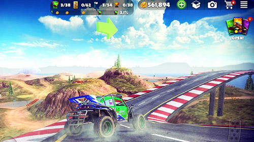 Screenshots do Offroad madness - Perigoso para tablet e celular Android.