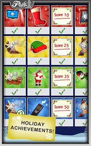 Screenshots of the Office jerk: Holiday edition for Android tablet, phone.