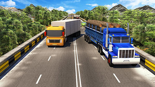 Offroad 18 wheeler truck driving screenshot 1