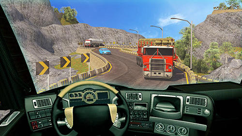 Offroad 18 wheeler truck driving screenshot 2