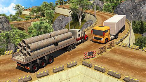 Offroad 18 wheeler truck driving screenshot 3