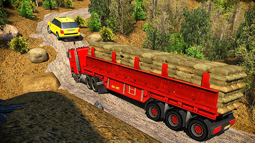 Offroad 18 wheeler truck driving screenshot 4