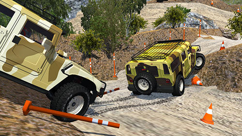 Screenshots von Offroad car H für Android-Tablet, Smartphone.