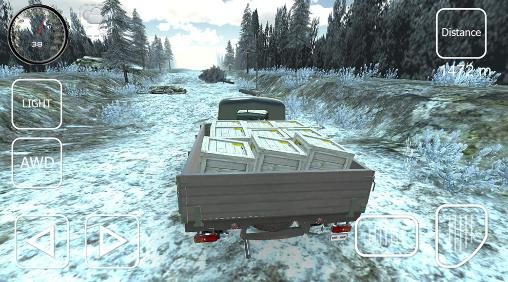 Offroad cargo pickup driver screenshot 2