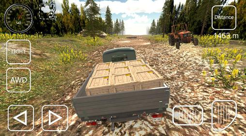 Offroad cargo pickup driver screenshot 3