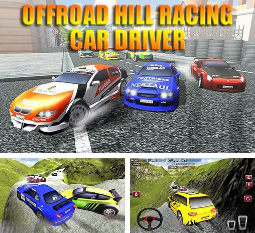 Offroad hill racing car driver