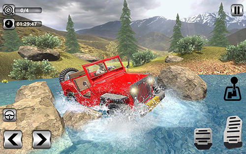 Offroad jeep driving 2018: Hilly adventure driver screenshot 3
