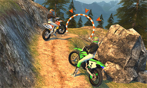 Offroad moto bike racing games скриншот 2