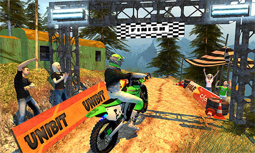 Offroad moto bike racing games картинка из игры 3