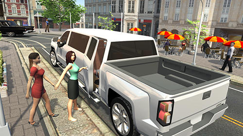 Offroad pickup truck S screenshot 1