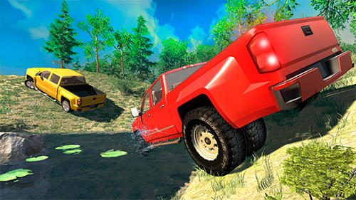 Screenshots von Offroad pickup truck S für Android-Tablet, Smartphone.