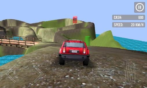 Screenshots von Offroad racing 3D für Android-Tablet, Smartphone.