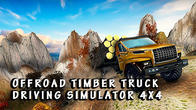 Offroad timber truck: Driving simulator 4x4 APK