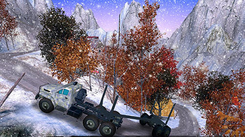Offroad timber truck: Driving simulator 4x4 скриншот 2