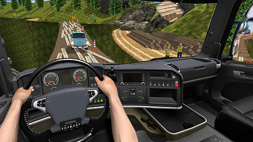 Offroad truck driving simulator screenshot 2