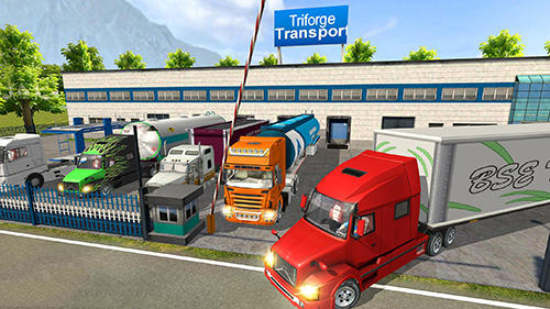 Screenshots von Offroad truck driving simulator für Android-Tablet, Smartphone.