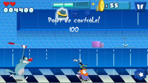 Juega a Oggy and the cockroaches para Android. Descarga gratuita del juego Oggy y las cucarachas .