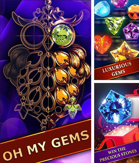 In addition to the game Kingdom jewels for Android phones and tablets, you can also download Oh my gems! for free.