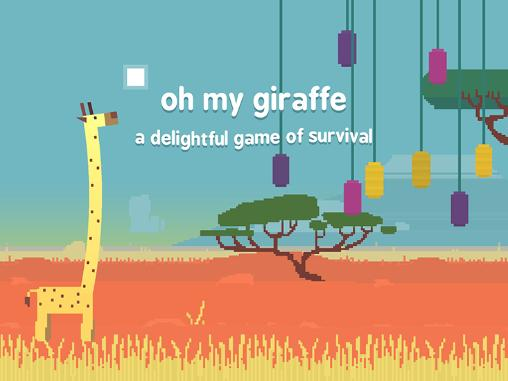 Oh my giraffe: A delightful game of survival обложка