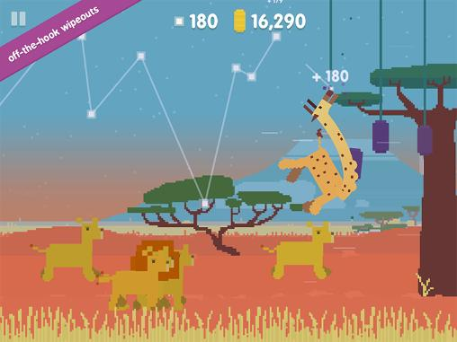 Oh my giraffe: A delightful game of survival картинка из игры 3