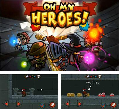 In addition to the game Archery Star for Android phones and tablets, you can also download Oh my heroes! for free.