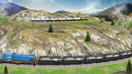 Screenshots von Oil tanker train simulator für Android-Tablet, Smartphone.