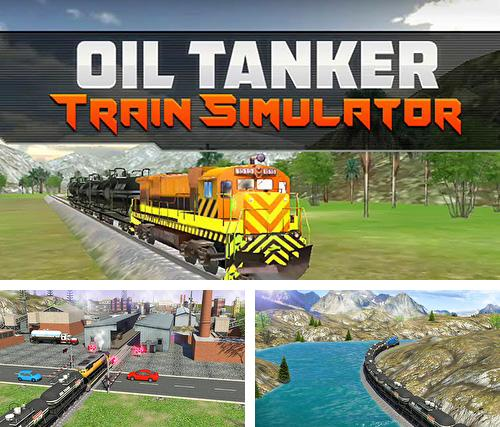 En plus du jeu Mission de lune pour téléphones et tablettes Android, vous pouvez aussi télécharger gratuitement Train transporteur de pétrole: Simulateur, Oil tanker train simulator.
