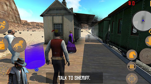 Screenshots von Western cowboy: Gun blood 2 für Android-Tablet, Smartphone.