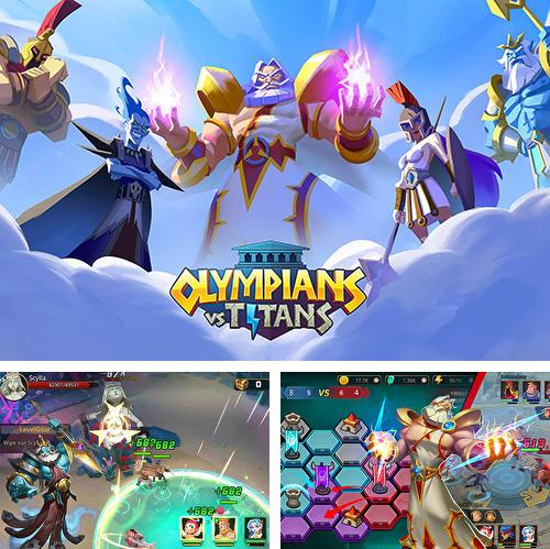 In addition to the game 9 lives: A tap cats RPG for Android phones and tablets, you can also download Olympians vs titans for free.