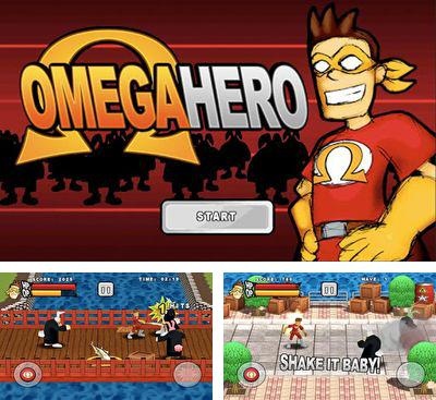 In addition to the game Pix'n Love Rush for Android phones and tablets, you can also download Omega Hero for free.