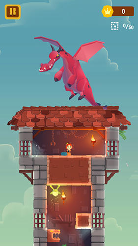Screenshots von Once upon a tower für Android-Tablet, Smartphone.