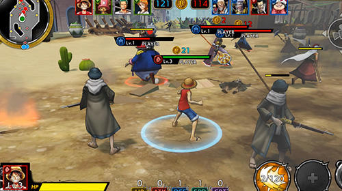 Screenshots do One piece: Bounty rush - Perigoso para tablet e celular Android.