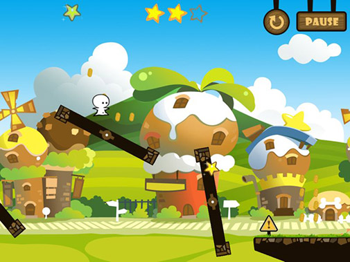 Screenshots of the One tap hero for Android tablet, phone.