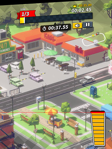 Screenshots do Onslot car - Perigoso para tablet e celular Android.