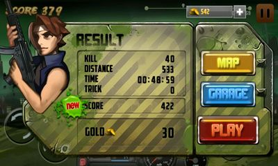Screenshots of the Oops Zombie for Android tablet, phone.