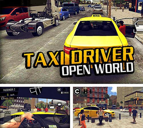 Open world driver: Taxi simulator 3D free racing