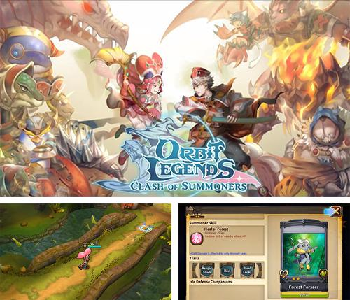 In addition to the game Mobile legends for Android phones and tablets, you can also download Orbit legends: Clash of summoners for free.