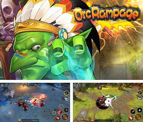 Orc rampage: Heroes clash