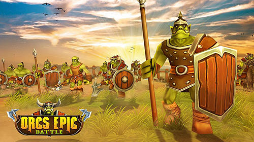 Orcs epic battle simulator poster