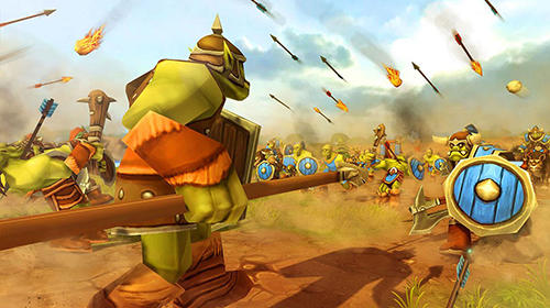 Orcs epic battle simulator screenshot 3