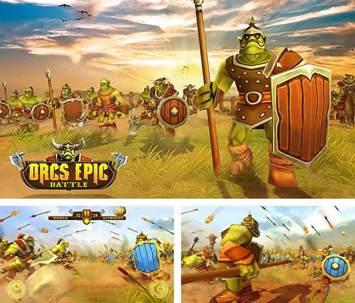 In addition to the game From the sea for Android phones and tablets, you can also download Orcs epic battle simulator for free.