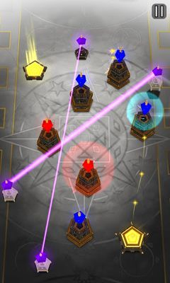 Screenshots of the Orion's Forge for Android tablet, phone.