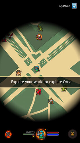 Гра Orna: The GPS RPG на Android - повна версія.